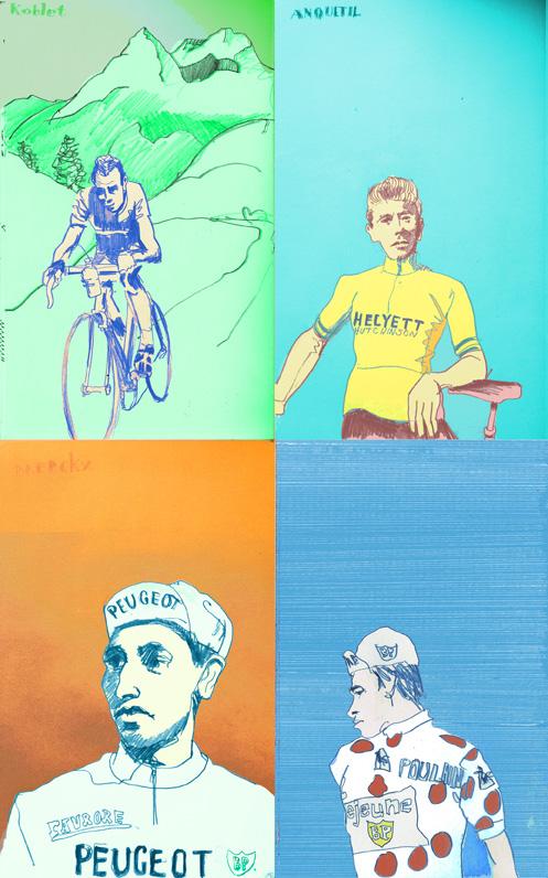Winners of the Tour de France